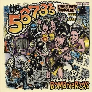 "5-6-7-8'S ""Bomb the rocks"" LP"