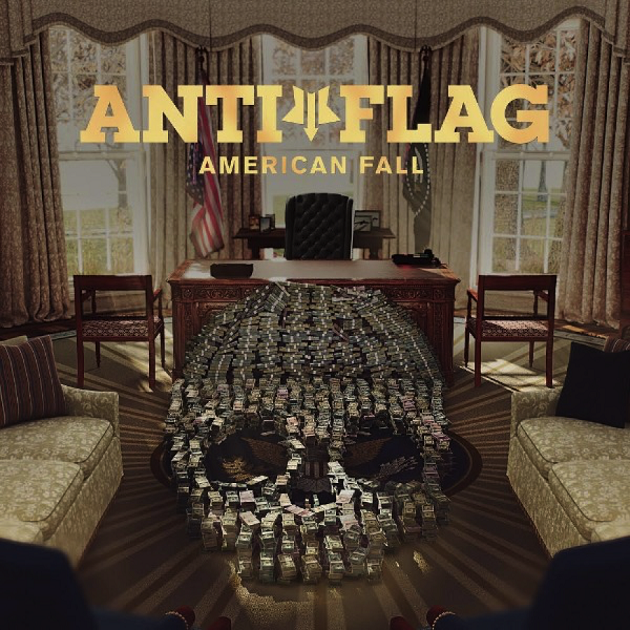 "ANTI FLAG ""American fall"" CD"