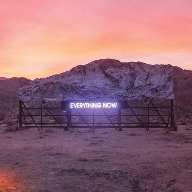"ARCADE FIRE ""Everything now"" CD"