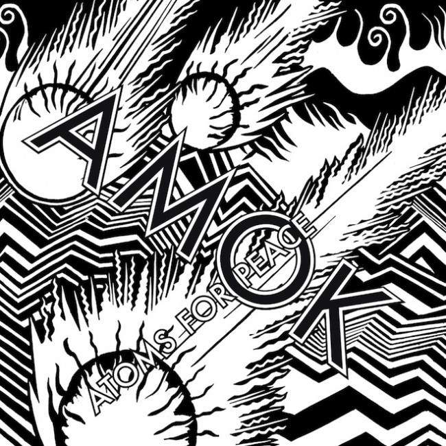 "ATOMS FOR PEACE ""Amok"" VINYL"