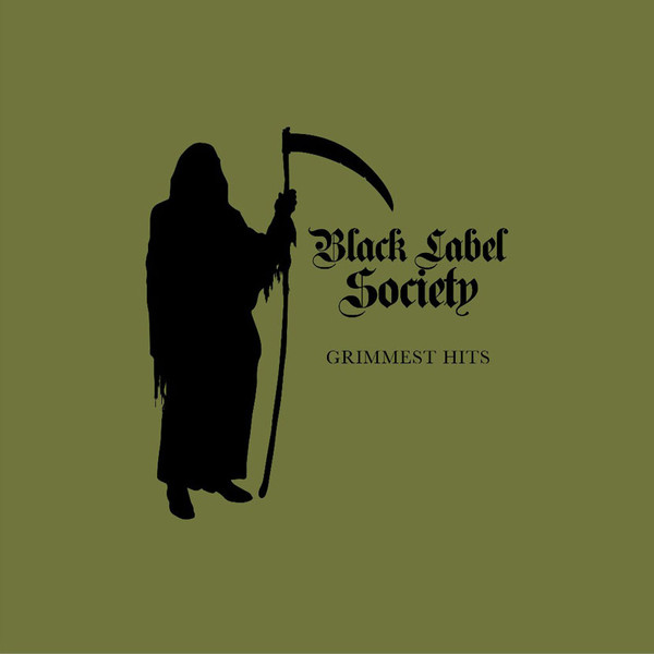 "BLACK LABEL SOCIETY ""Grimmest hits"" VINYL"