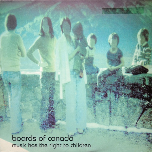 "BOARDS OF CANADA ""Music has the right to children"" CD"
