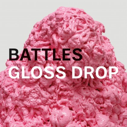 "BATTLES ""Gloss Drop"" DOUBLE VINYL"