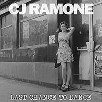 "CJ RAMONE ""Last chance to dance"" LP"