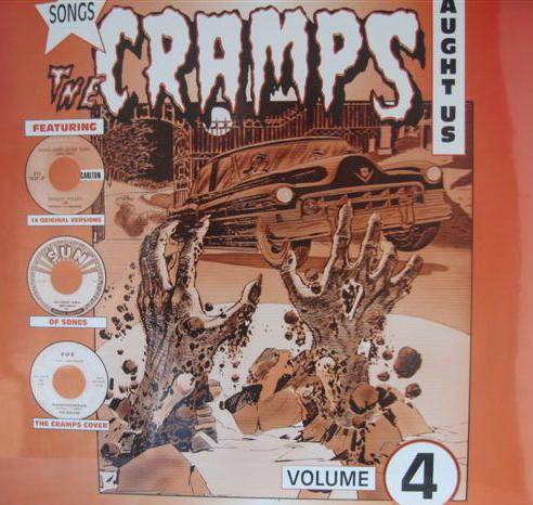 "V/A ""Songs the Cramps taught us vol 4"" VINYL"