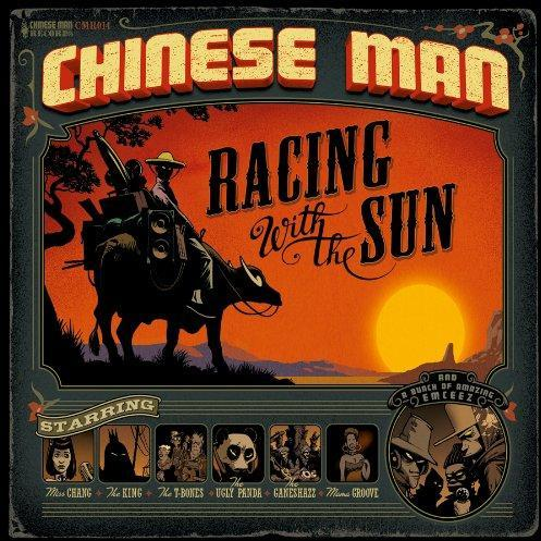 "CHINESE MAN ""Racing with the sun"" 3LP"
