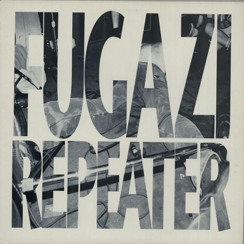 "FUGAZI ""Repeater"" CD"