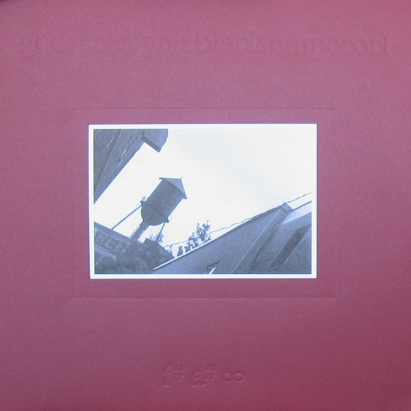 "GODSPEED YOU BLACK EMPEROR! ""f#a#oo"" VINYL"