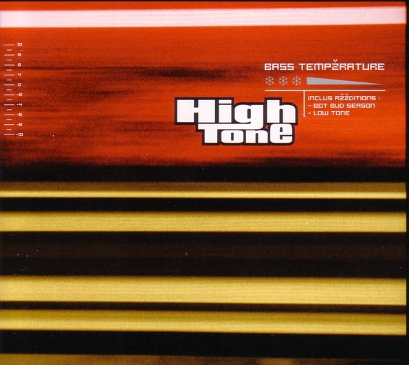 "HIGH TONE ""Bass temperature"" VINYL"