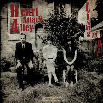 "HEART ATTACK ALLEY ""Living in hell"" CD"
