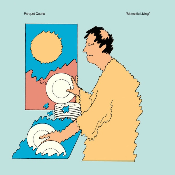"PARQUET COURTS ""Monastic living"" LP"