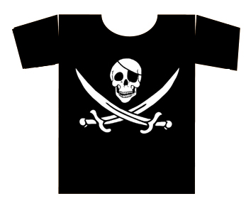 PIRATE tee-shirt fille