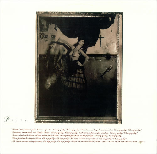 "PIXIES ""Surfer rosa"" CD"