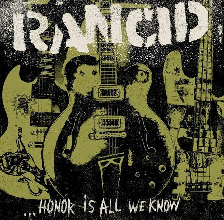 "RANCID ""Honor is all we know"" VINYL"