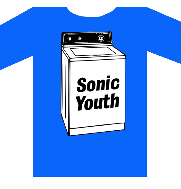 "SONIC YOUTH ""Washing machine"" TS"