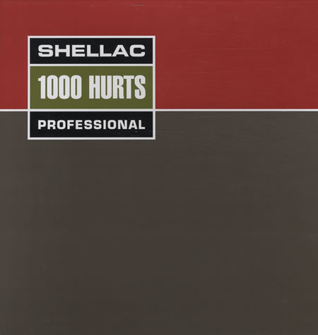 "SHELLAC ""1000 hurts"" CD"