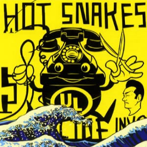"HOT SNAKES ""Suicide invoice"" CD"