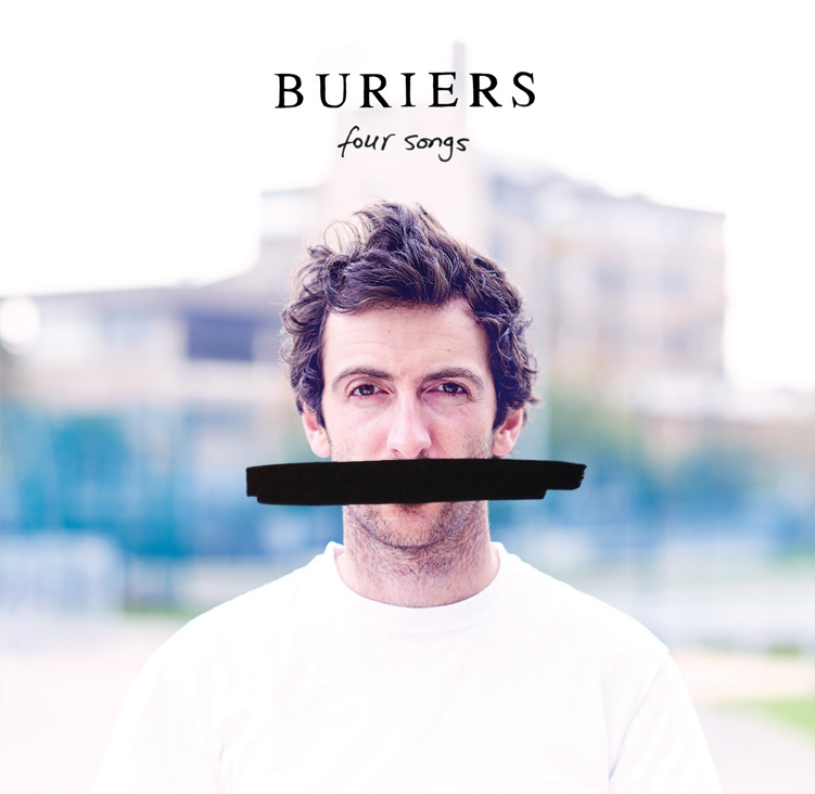 "A BAND OF BURIERS ""Four songs"" VINYL 10"""