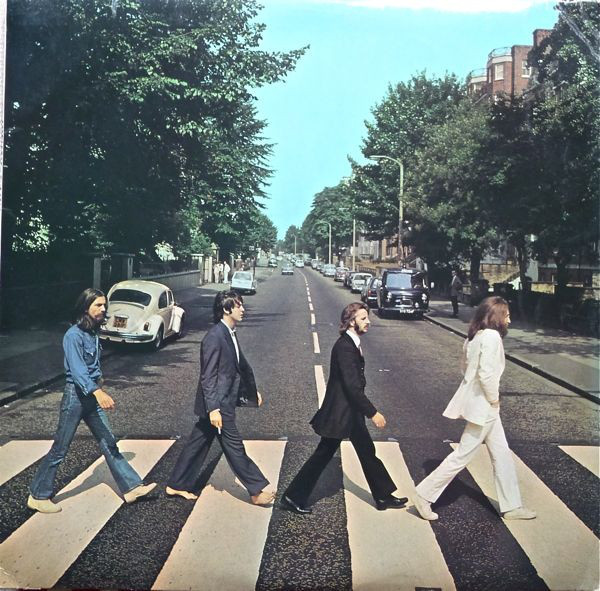 "BEATLES ""Abbey road"" CD"
