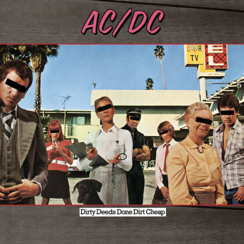 "AC/DC ""Dirty deeds done dirt cheap"" VINYL"