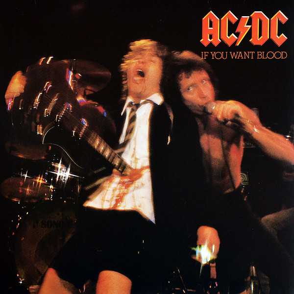 "AC/DC ""If you want blood you've got it"" LP"