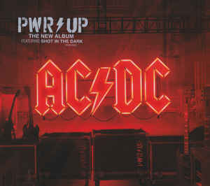 "AC/DC ""Power up"" CD"