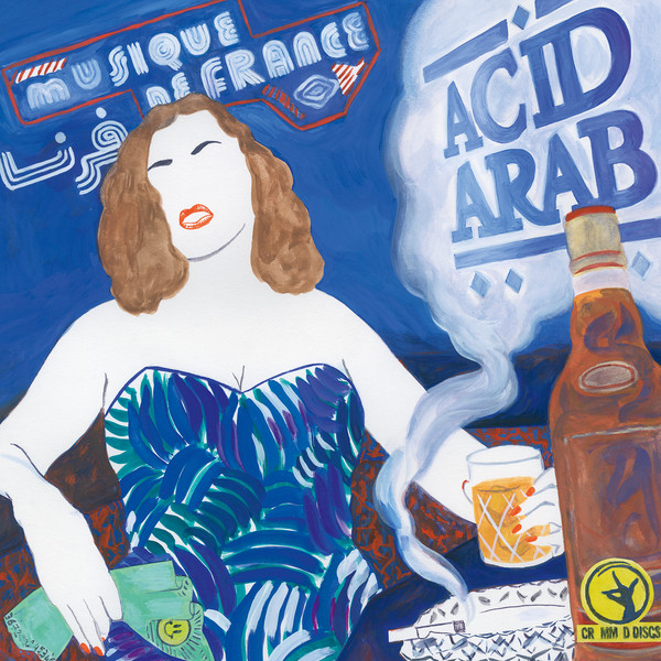 "ACID ARAB ""Musique de France"" DOUBLE VINYL"