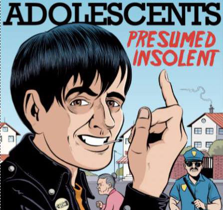 "ADOLESCENTS ""Presumed insolent"" CD"