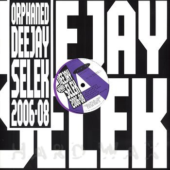 "AFX ""Orphaned deejay selek 2006-08"" CD"