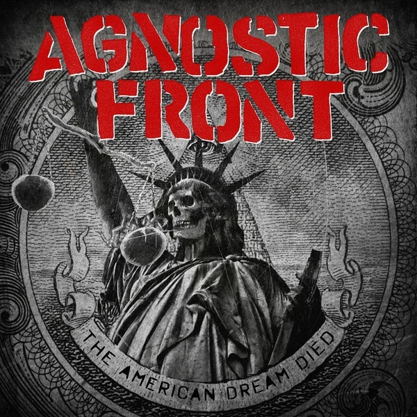 "AGNOSTIC FRONT ""The american dream died"" LP"