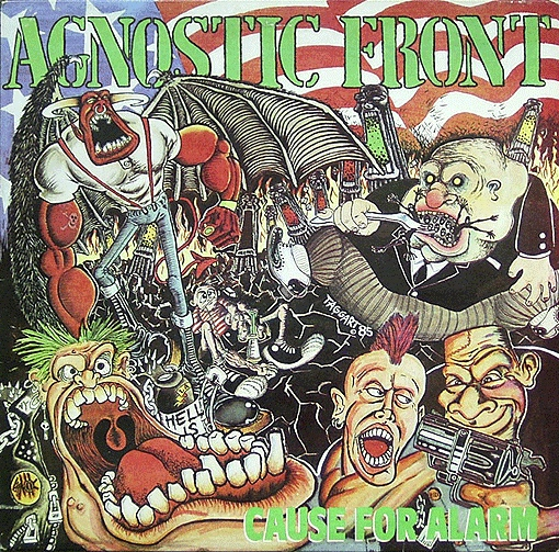 "AGNOSTIC FRONT ""Cause for alarm"" LP"