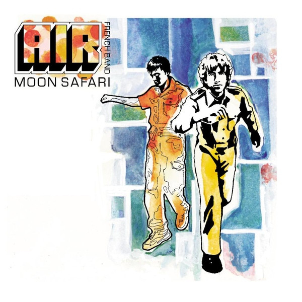 "AIR ""Moon safari"" LP"