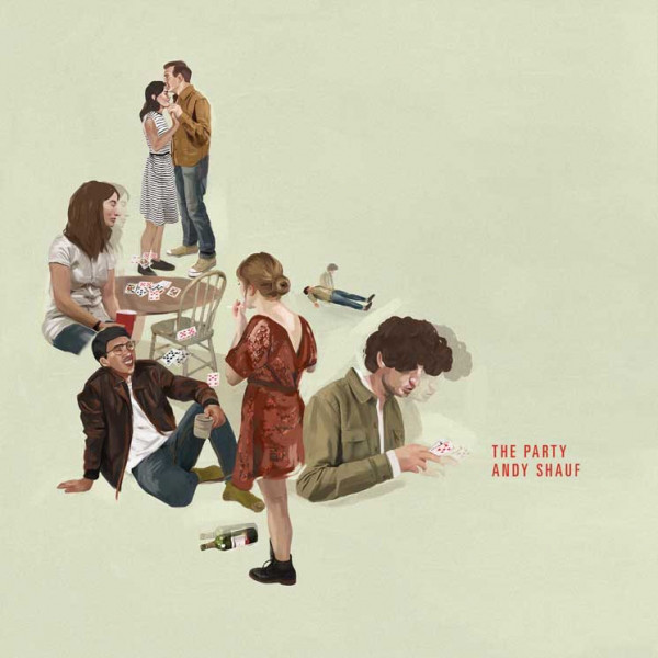 "ANDY SHAUF ""The party"" VINYL"