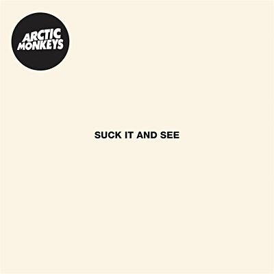 "ARCTIC MONKEYS ""Suck it and see"" CD"