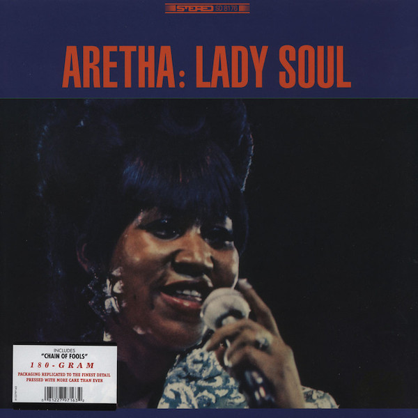 "ARETHA FRANKLIN ""Lady soul"" LP"