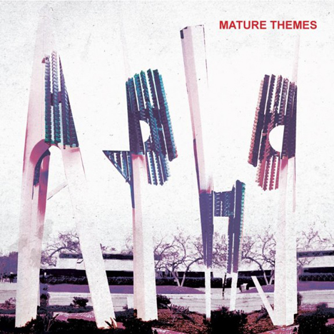 "ARIEL PINK'S HAUNTED GRAFFITI ""Mature Themes"" CD"