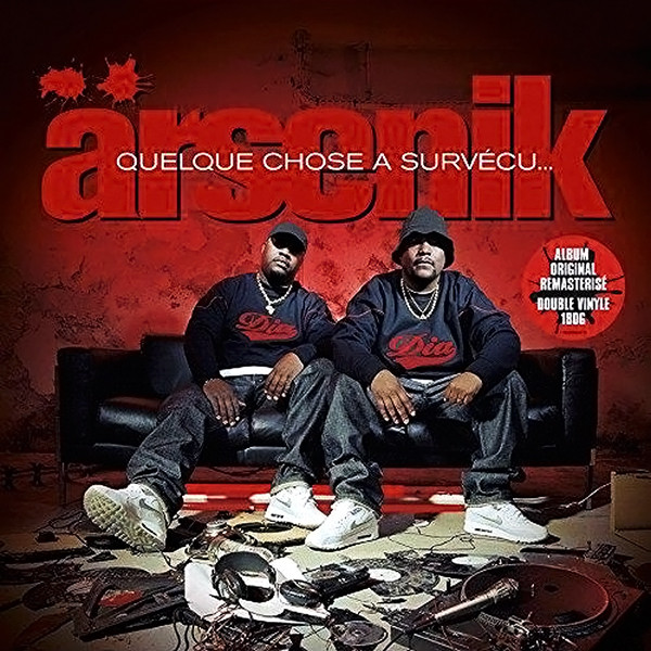 "ARSENIK ""Quelque chose a survecu"" 2LP"
