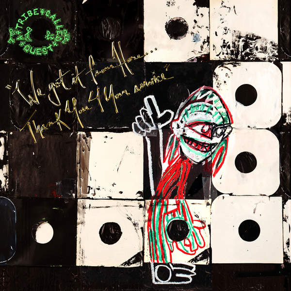 "A TRIBE CALLED QUEST ""We got it from here..."" DOUBLE VINYL"