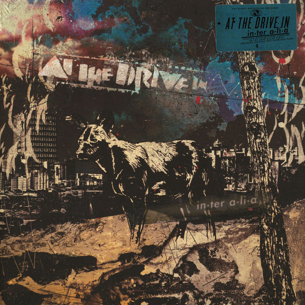 "AT THE DRIVE IN ""In.ter a.li.a"" CD"