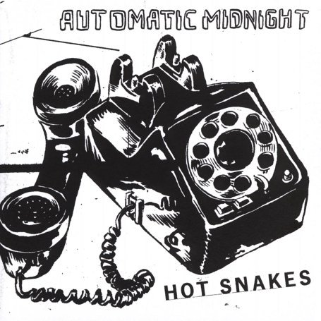 "HOT SNAKES ""Automatic midnight"" CD"