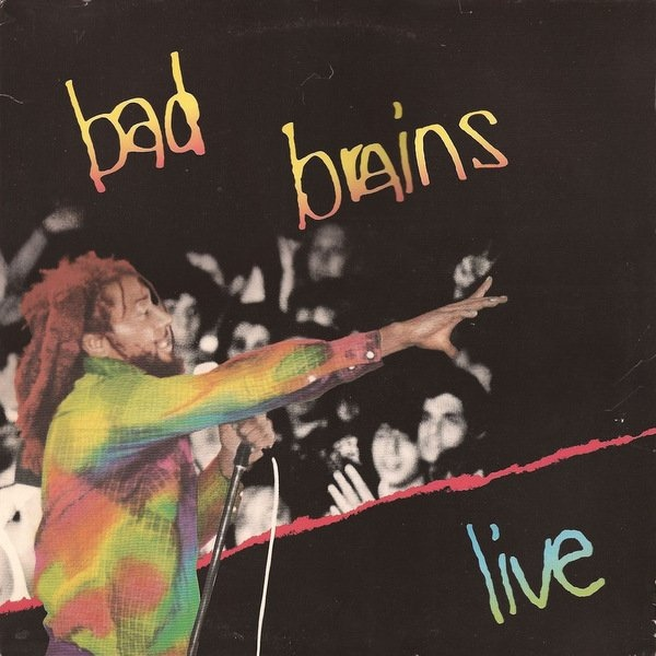 "BAD BRAINS ""Live"" VINYL"