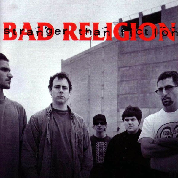 "BAD RELIGION ""Stranger than fiction"" VINYL"