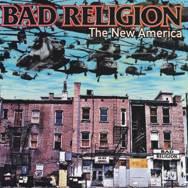"BAD RELIGION ""The new america"" VINYL"