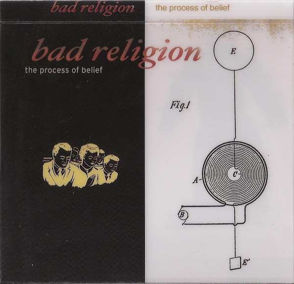 "BAD RELIGION ""The process of belief"" VINYL"