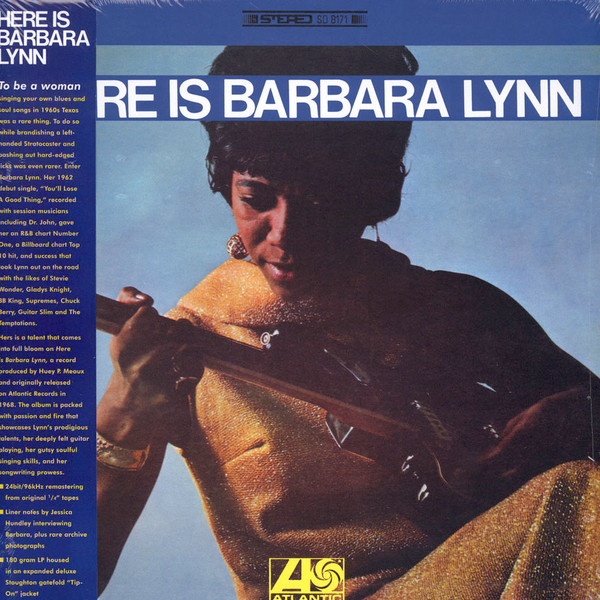 "BARBARA LYNN ""Here is"" LP"