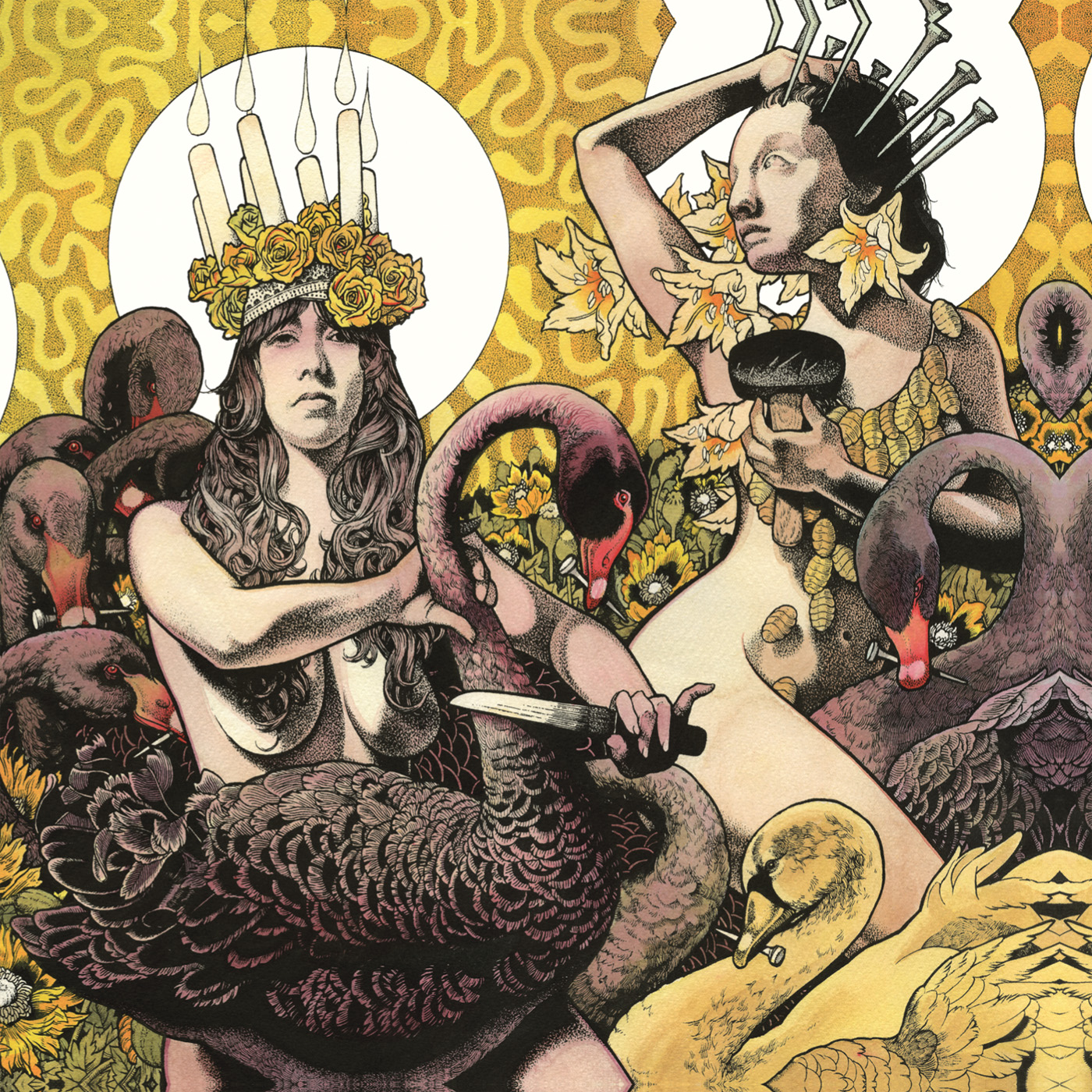 "BARONESS ""Yellow & Green"" CD"