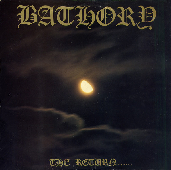"BATHORY ""The return"" LP"