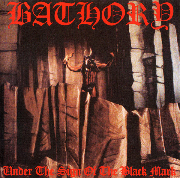 "BATHORY ""Under the sign of the black mark"" CD"