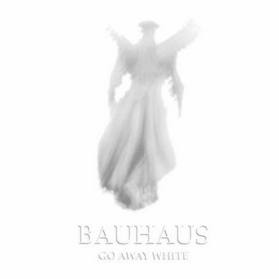 "BAUHAUS ""Go away white"" CD"