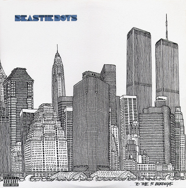 "BEASTIE BOYS ""To the 5 boroughs"" VINYL"